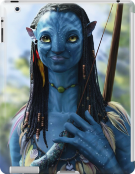 Neytiri Avatar 2 Ipad Snap Case by richardm098