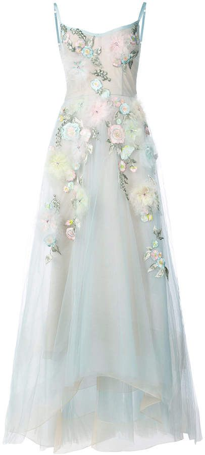 Marchesa Notte embellished ball gown. Disclosure: My pins are ...