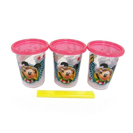 The First Years Disney Mickey Mouse Take & Toss Straw Cup 10oz