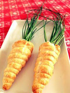 Mammarum: Una ricetta per Pasqua: le finte carote!