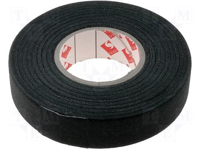 Details about Black Rayon Fabric Insulating Wrapping Tape