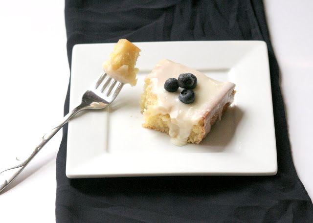 Sweet and Savory By Sarah: Almond Sheet Cake