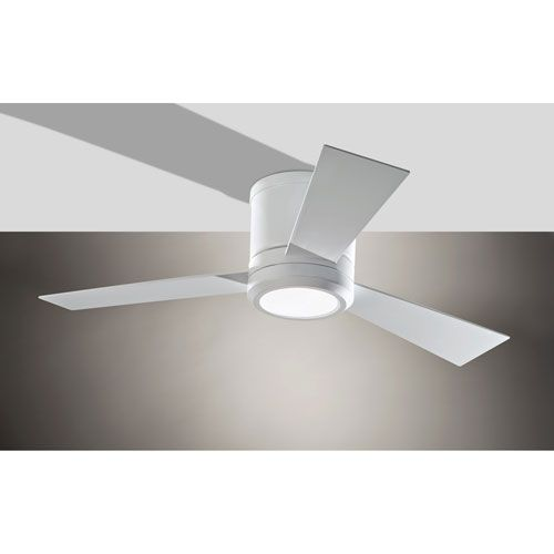 Monte carlo clarity ii rubberized white 42 inch led hugger ceiling clarity ii rubberized white 42 inch led hugger ceiling fan monte carlo hugger ceiling fans aloadofball Gallery