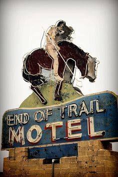 End Of Trail Motel Broken Bow Oklahoma