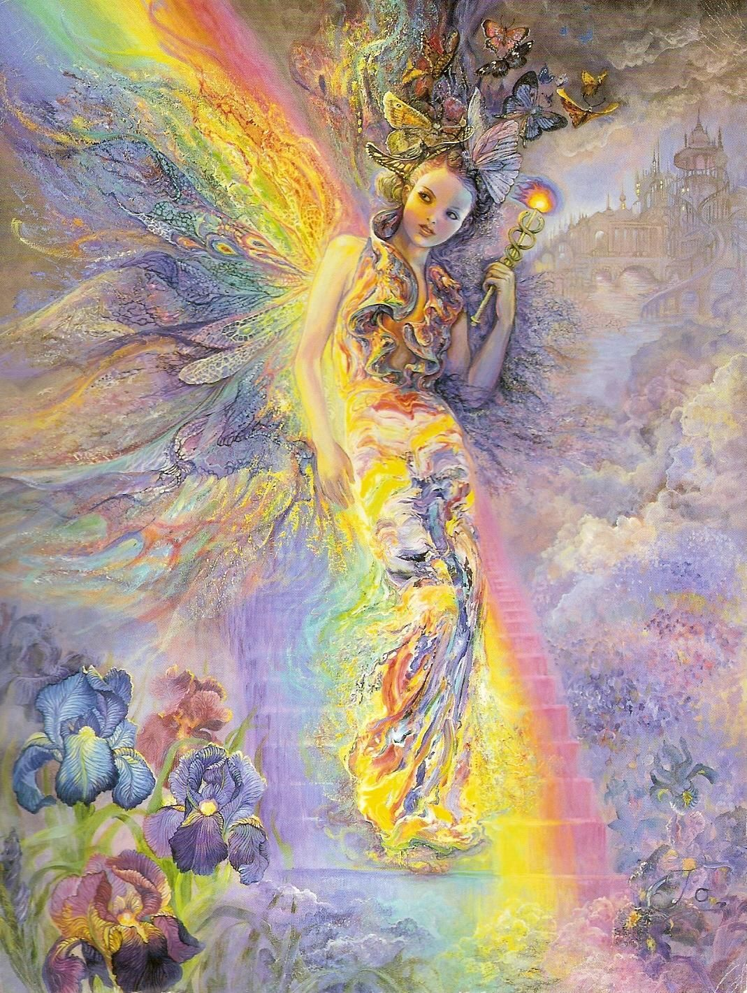 Iris, Ancient Greek Goddess of the Rainbow and Messenger of the Gods