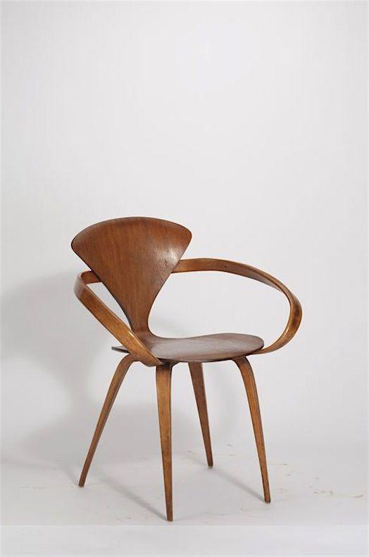 norman cherner armchair exhibit the werner lffler collection in