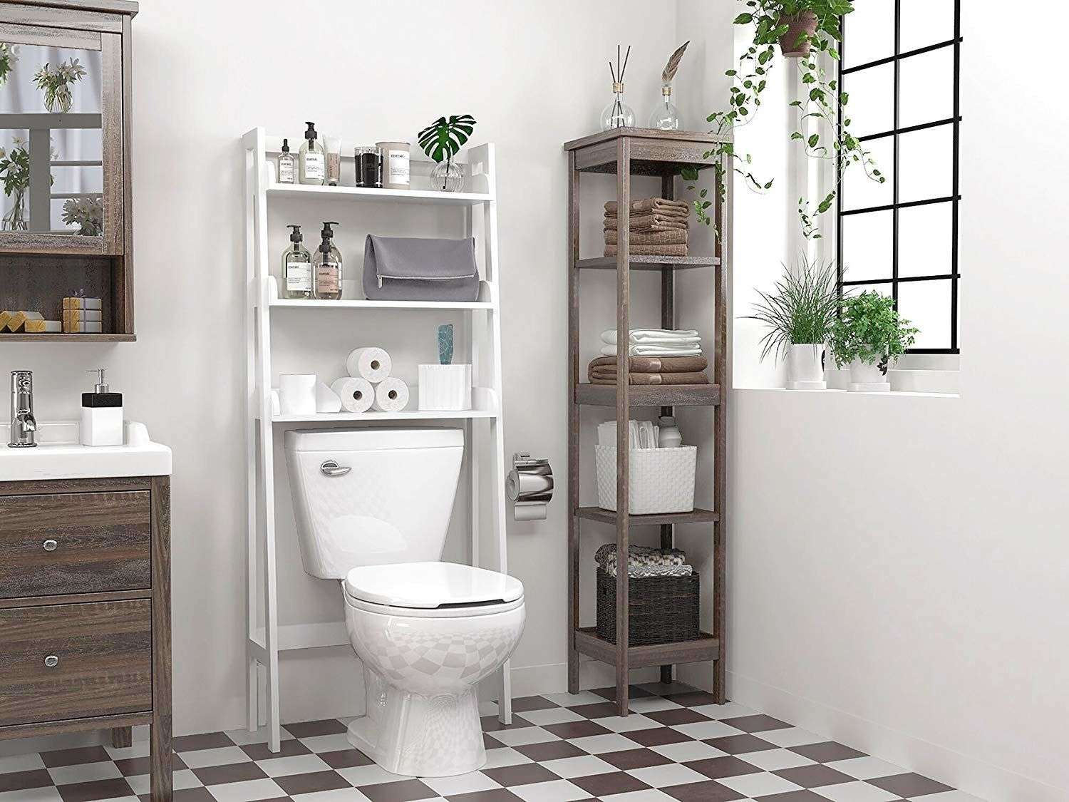 20 Pieces Of Furniture And Decor That Are Perfect For Small Apartments Bathroom Organisation Bathroom Solutions Space Saving Bathroom