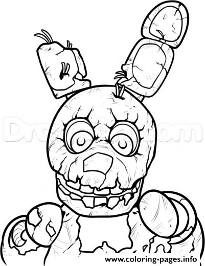 Print 3 Nights At Freddys Five Five Nights At Freddys Fnaf Coloring Pages Fnaf Coloring Pages Fnaf Drawings Five Nights At Freddy S