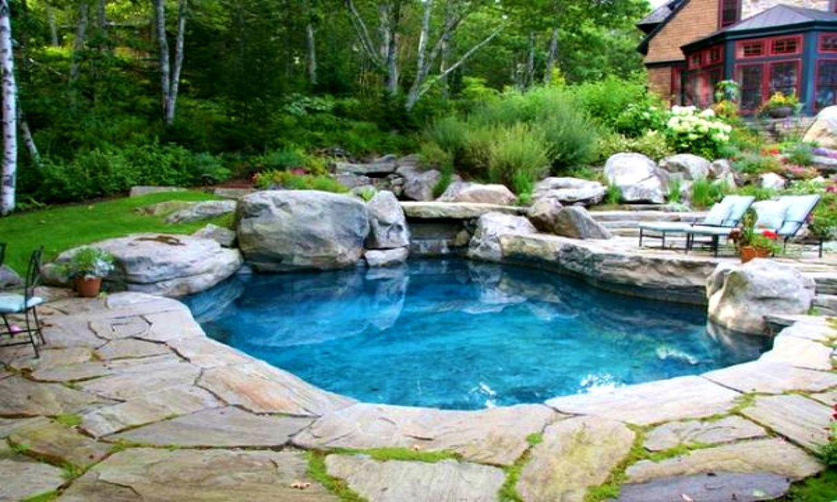 42 Awesome Natural Small Pools Design Ideas Best For Private