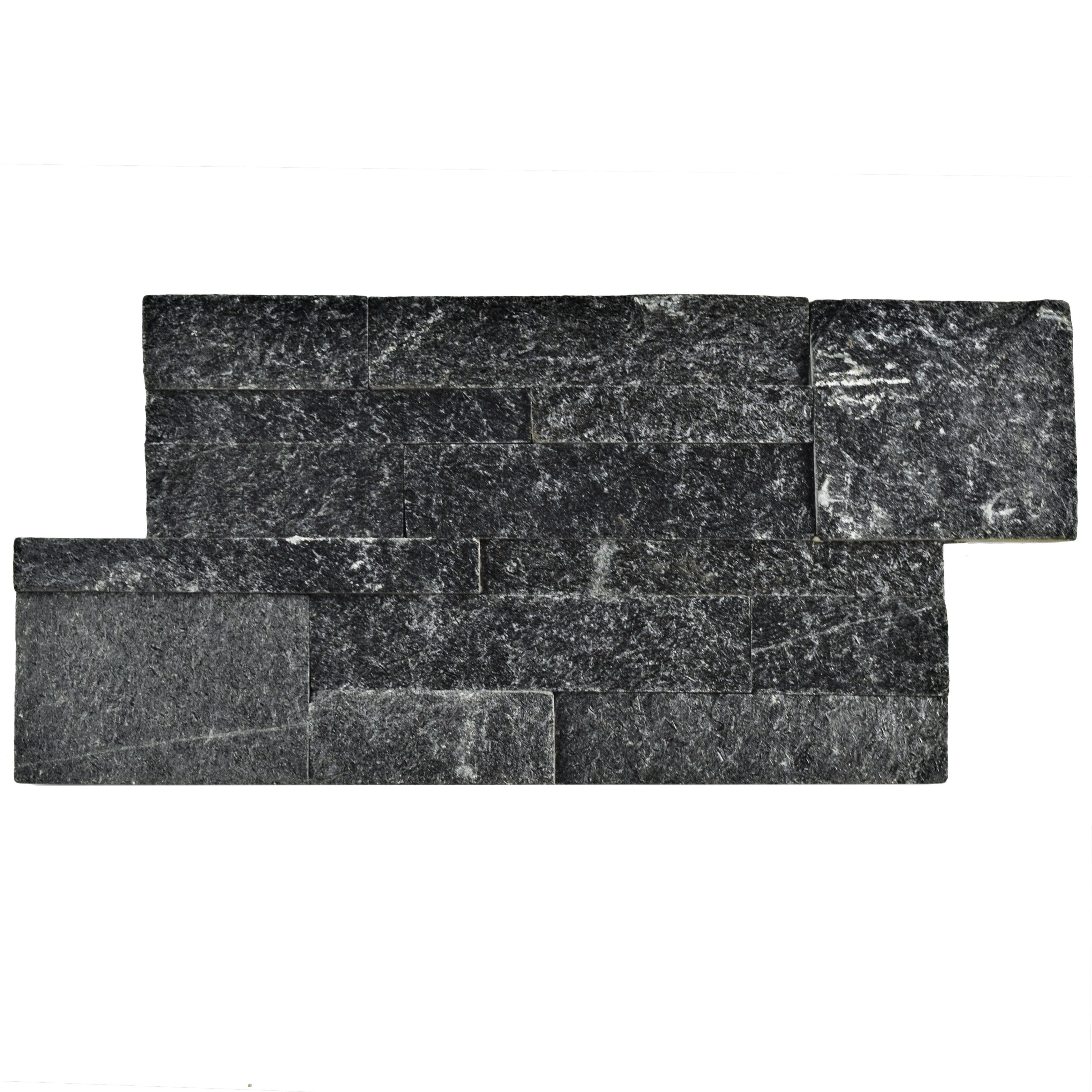 Somertile 7x13 5 Inch Piedra Quartzite Stone Wall Tile