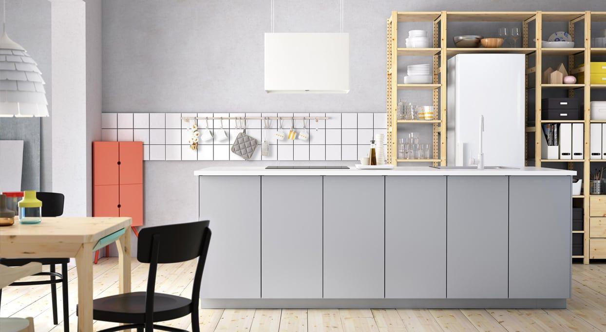 Kjokken Veddinge Gra I 2020 Ikea Kjokken Ideer Kjokken Inspirasjon Kjokken Gratt