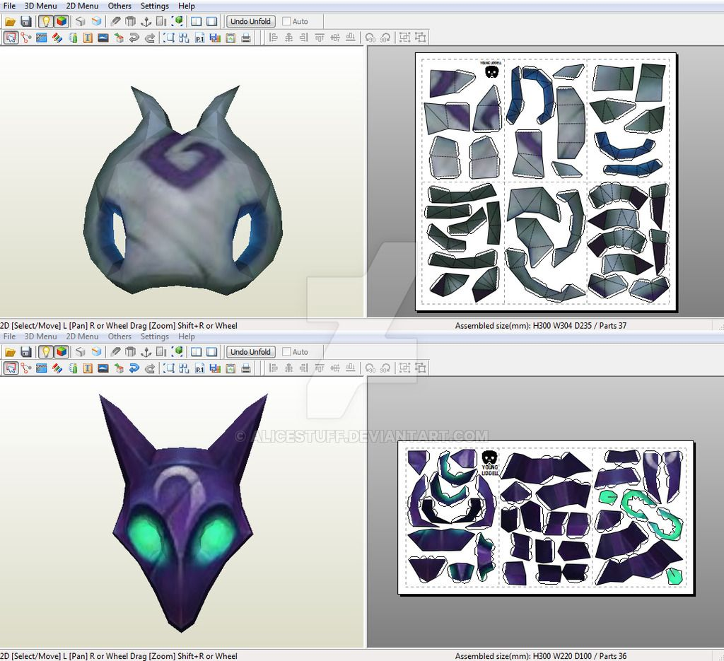 Kindred Wolf Mask Paper Craft Cosplay Pinterest Paper Crafts