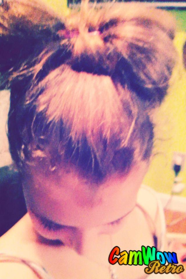The hair bow i did