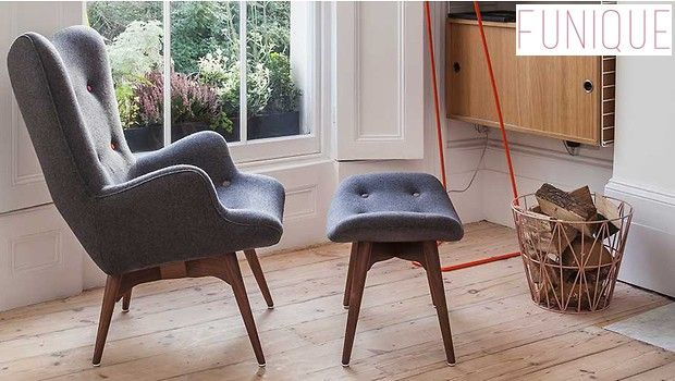 Buy Accent Chairs UK - funique.co.uk & Rad Modern Armchair With Wooden Legs | Pinterest | Wooden leg ...