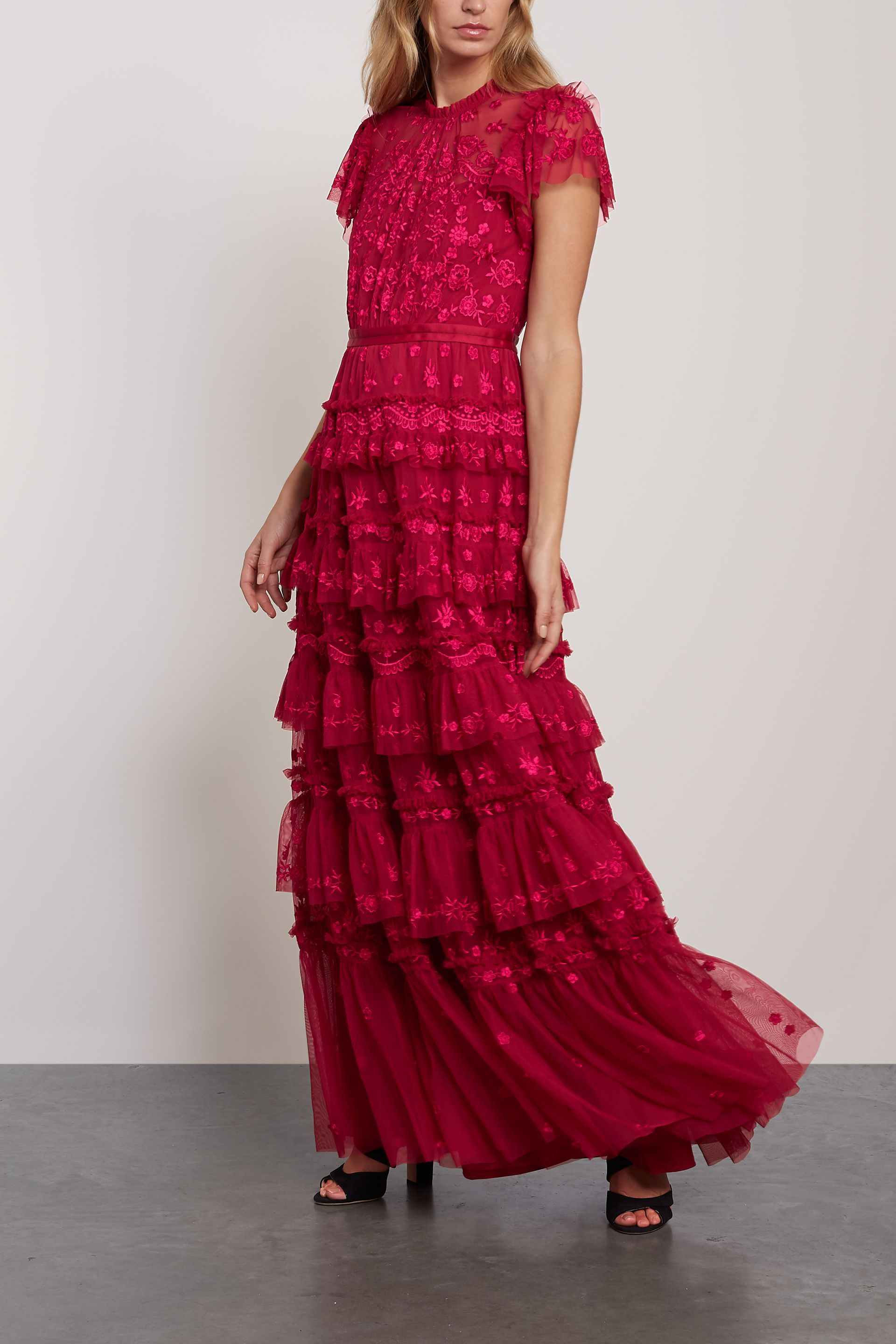 Harlin bow-detailed crepe mini dress in 2020   Red dresses ...