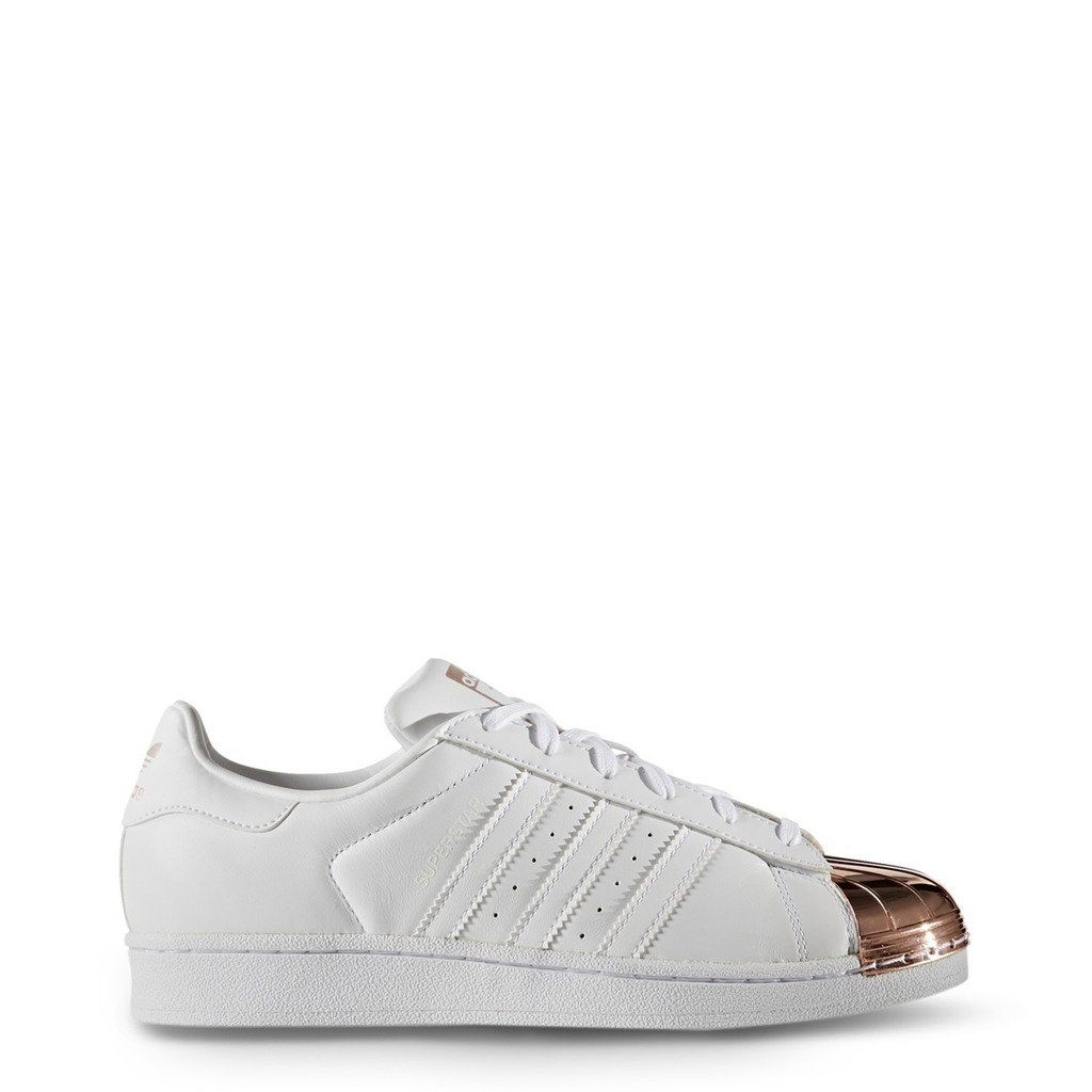 le dernier d4137 99406 Adidas Superstar blanches et pointe rose gold ! on adoore ...