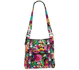 KK, cute for you, Vera Bradley Signature Cotton Convertible Hipster - QVC.com