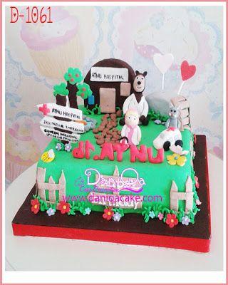 DaniQa Cake and Snack: Kue ulang tahun Masha and the bear