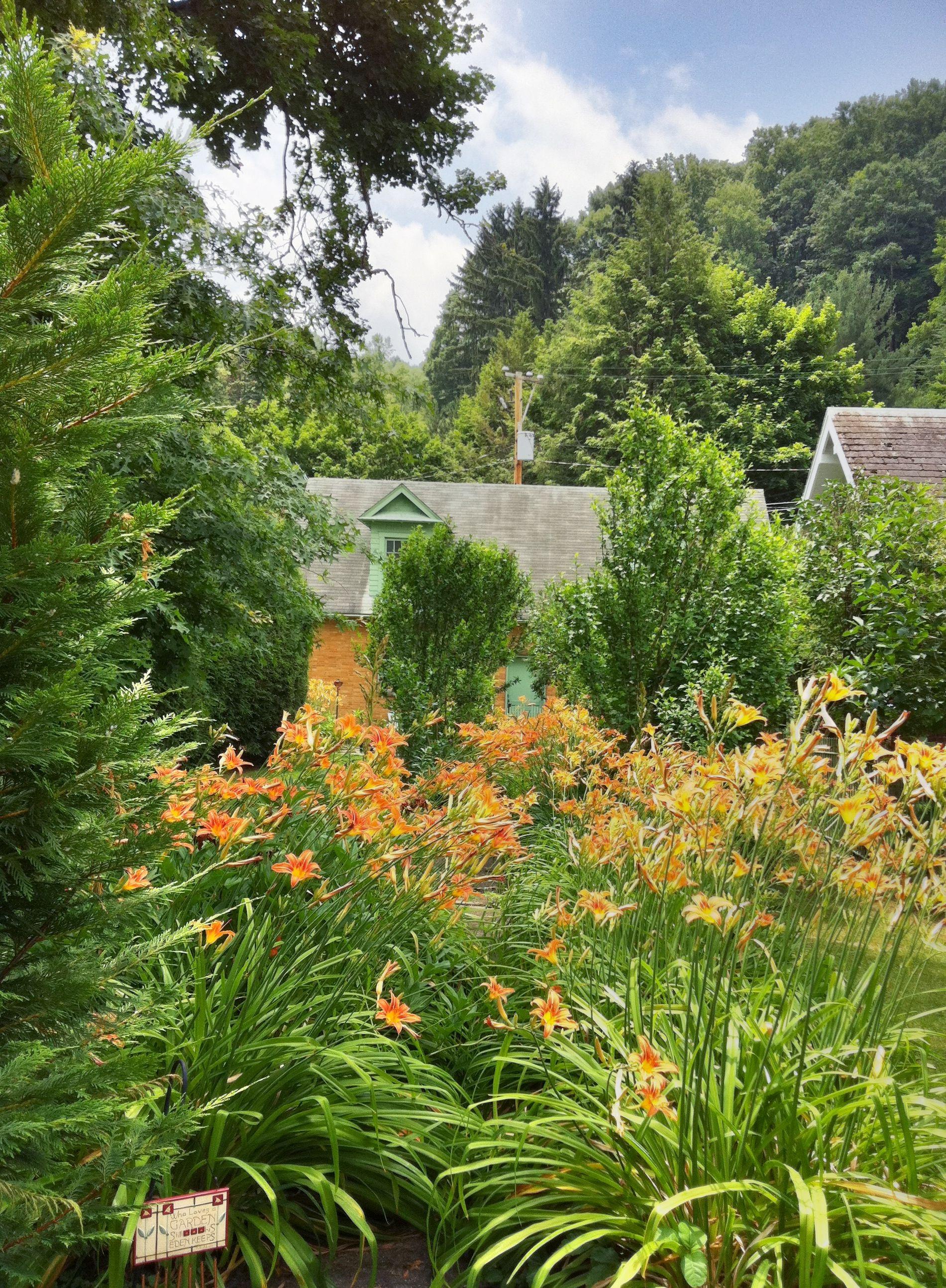 A Garden In Historic Bramwell, WV