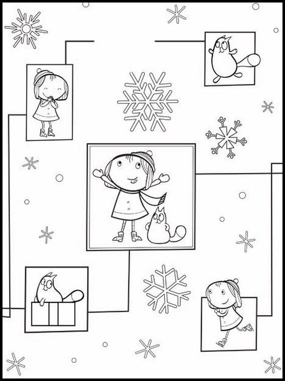Dibujos para Colorear. Dibujos para imprimir y pintar Peg Cat 5 ...