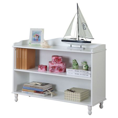 Found It At Wayfair Two Tier Bookcase In White