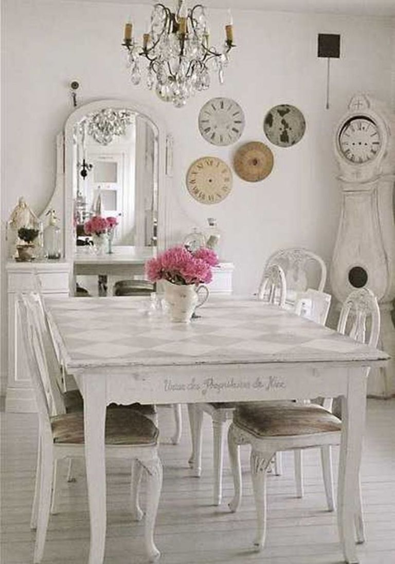 Shabby Chic Dining Room images