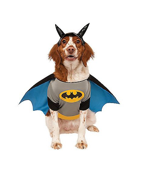 Batman Pet Costume Spirithalloween Com Pet Costumes Pet