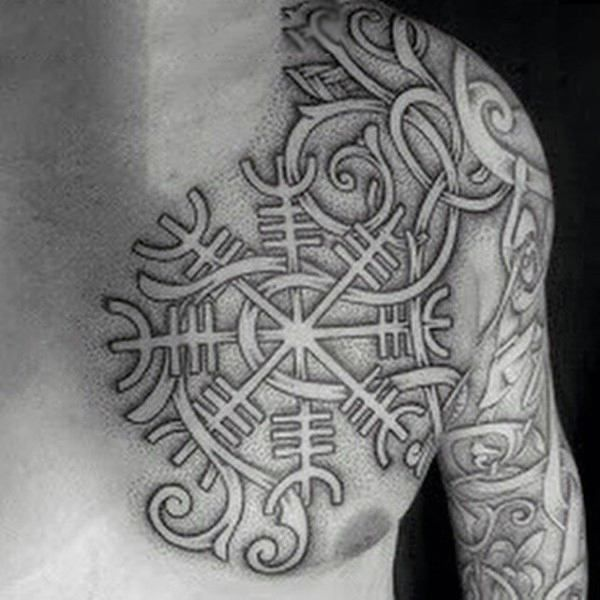 Top 101 Best Norse Tattoos Ideas 2020 Inspiration Guide Norse Tattoo Scandinavian Tattoo Nordic Tattoo