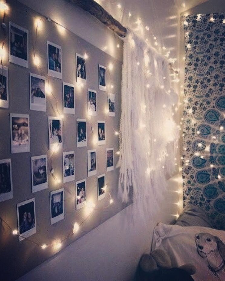 Fairy Lights In 2021 Awesome Bedrooms Teenage Room Cool Rooms