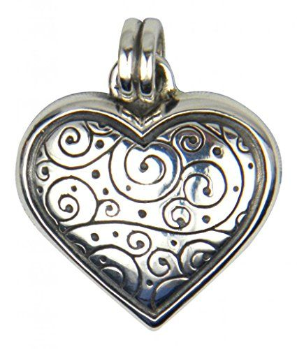 Charm Mother/'s Day Gift for Mom Friend Red Crystal Heart Necklace PendantTS WL