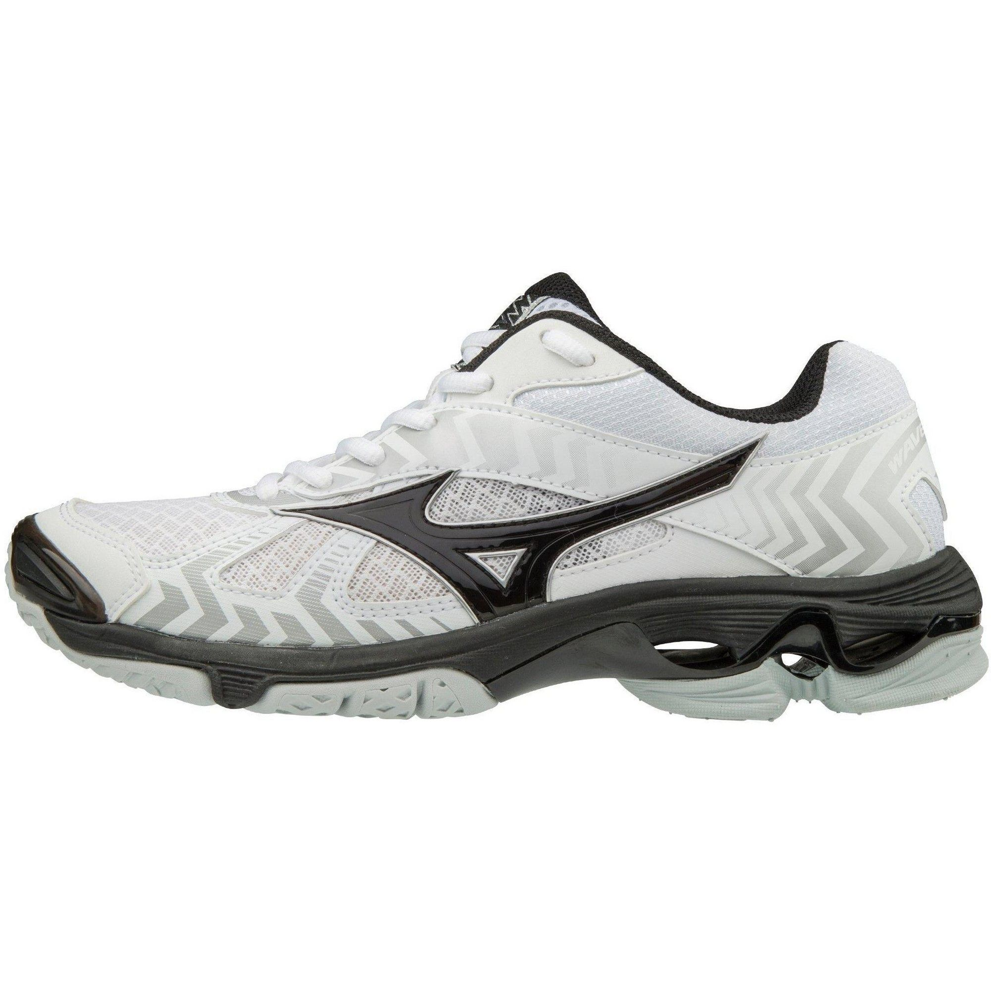 Mizuno Women S Wave Bolt 7 Volleyball Shoes Womens Size 6 5 In Color White Black 0090 Volleyball Shoes Women Volleyball Mens Volleyball Shoes