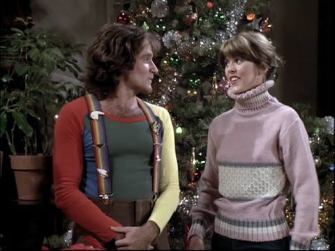 mork mindy all i want for christmas is you