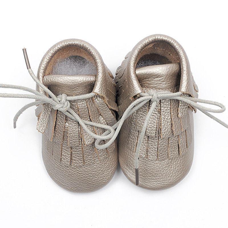 Baby Kanye - Leather Infant Baby Moccasins