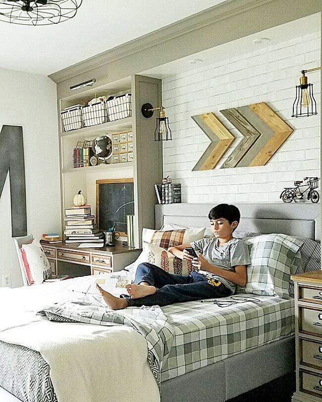 Love this boy room! hunter Pinterest