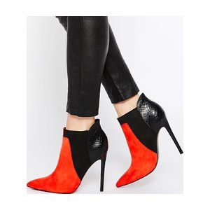 Buy Women Shoes / Asos Envious Of You Pointed Chelsea Ankle Boots