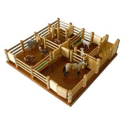 Cy4 Cattle Yard No 4 Handmade Wooden Yard Handmade