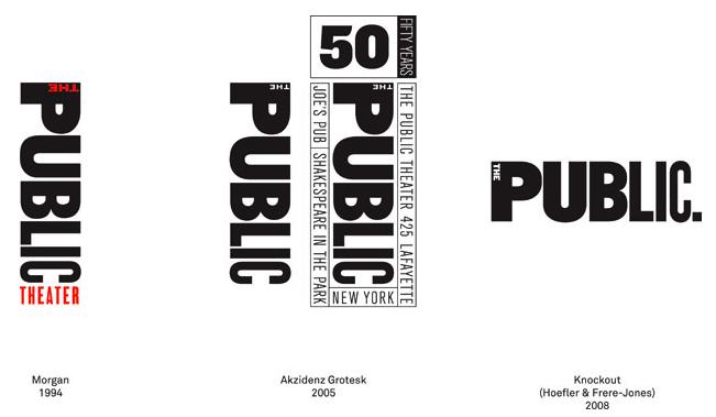 Designers Latoyagayle S Blog Theatre Logo Public Theater Logo Evolution