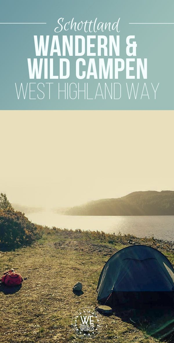 Photo of West Highland Way: 20 tips for hiking and wild camping for beginners [+ West Highland Way Packliste]