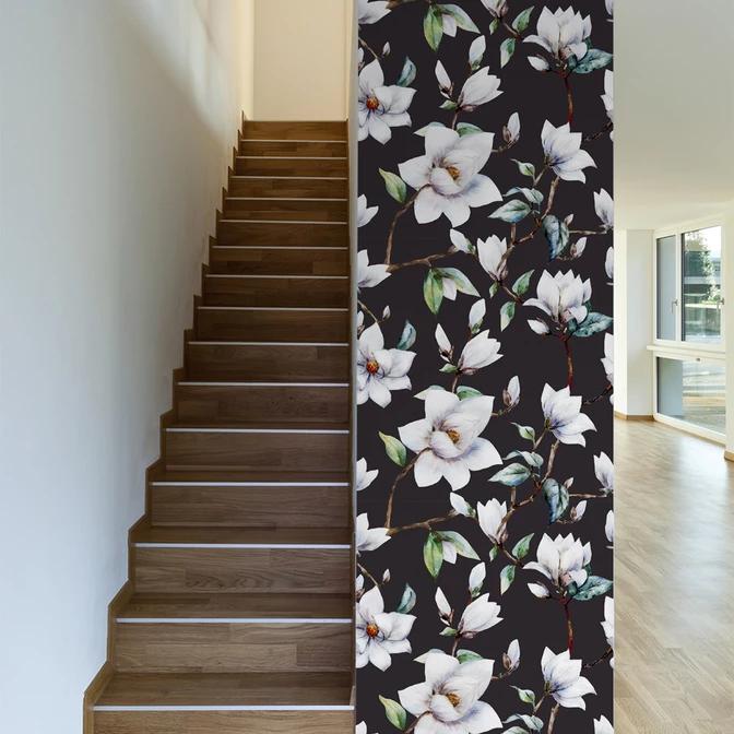 Vintage Magnolia Wallpaper in 2020 Magnolia wallpaper