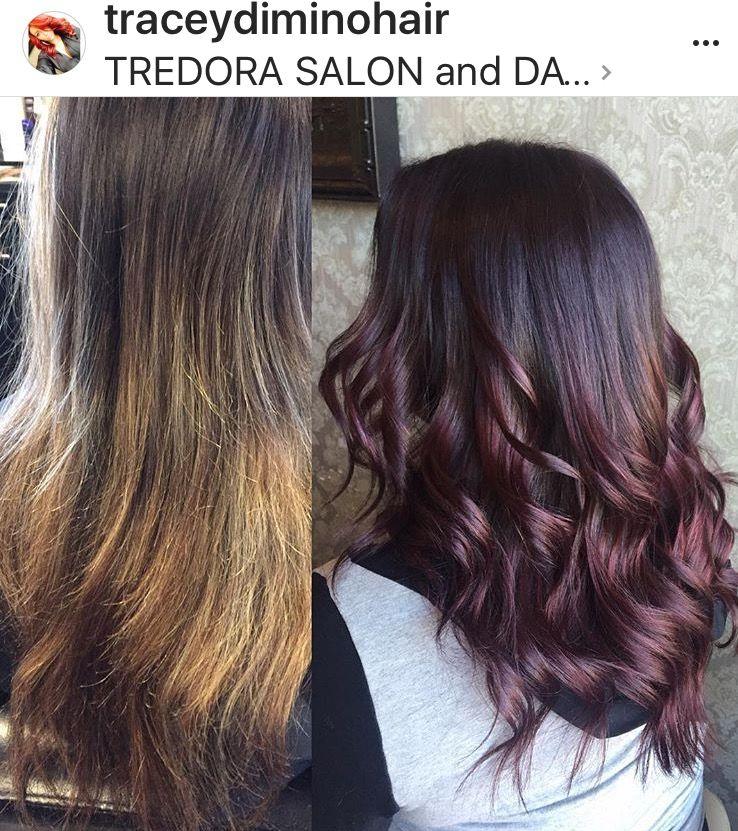 Hair Color Makeover Hair Color Ideas Purple Hair Purple Hair Hair Color Long Hair Styles