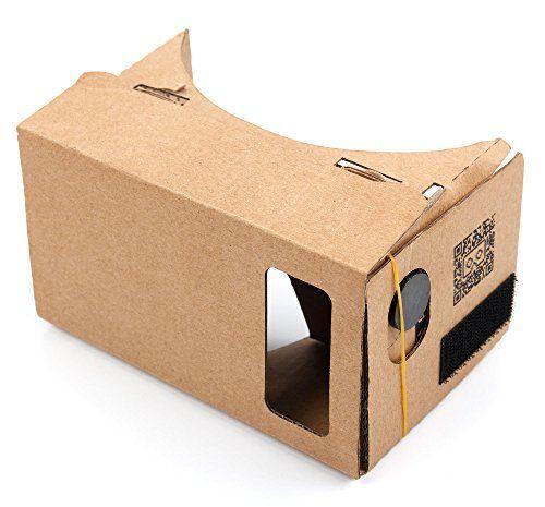 Duragadget Google Cardboard Virtual Reality Headset Compatible