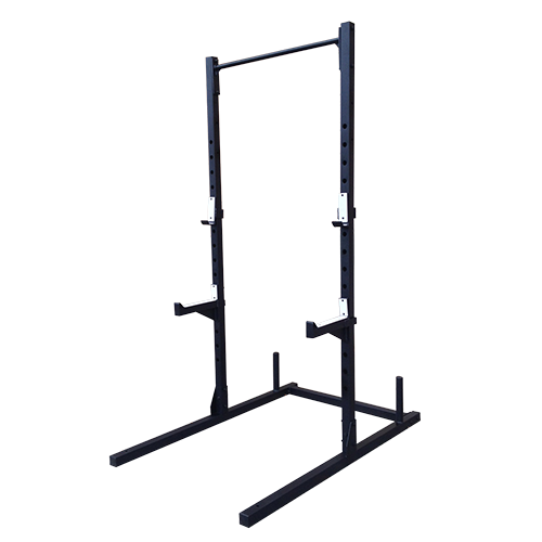 Squat Rack with Pullup Bar Diy home gym, Pull up bar, At