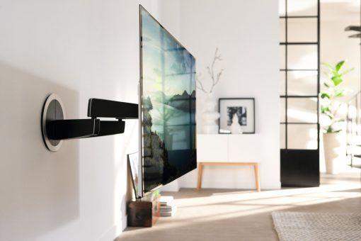 GroBartig Vogels Motorisierte Und Automatisch Schwenkbare TV Wandhalterung