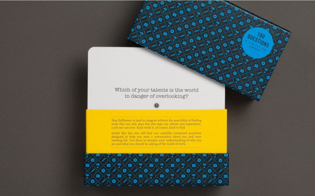 100 career questions cards the school of life shop 100 career questions cards the school of life shop reheart Gallery