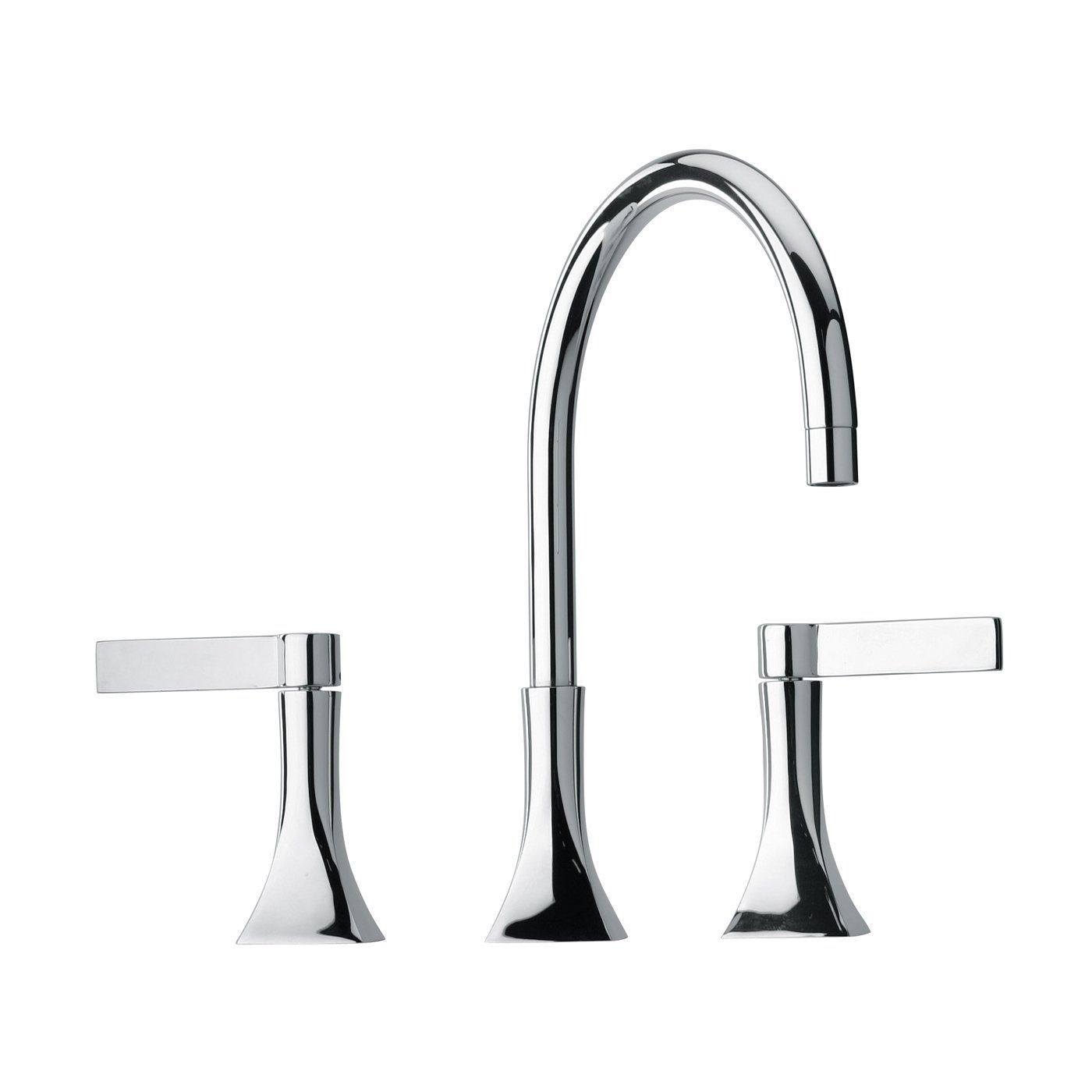 Jewel Faucets 17214 J17 Bath Series Two Blade Handle Widespread ...
