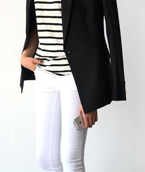 #stripes #blackblazer