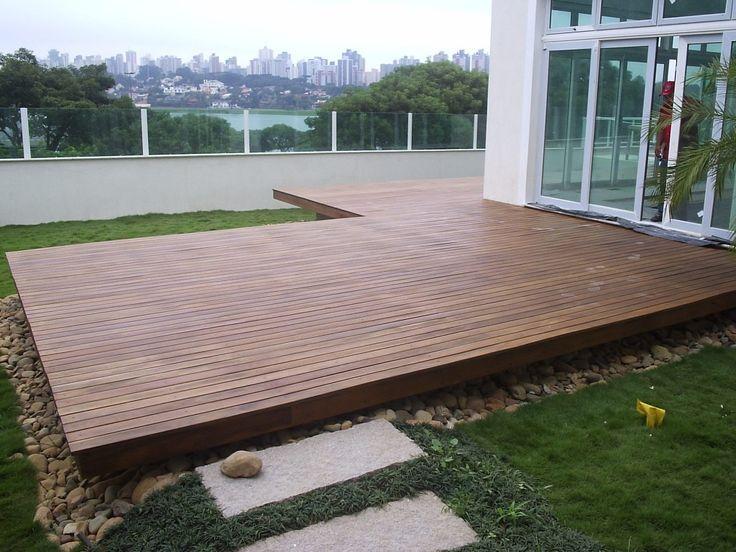 Backyard Concrete Deck Ideas