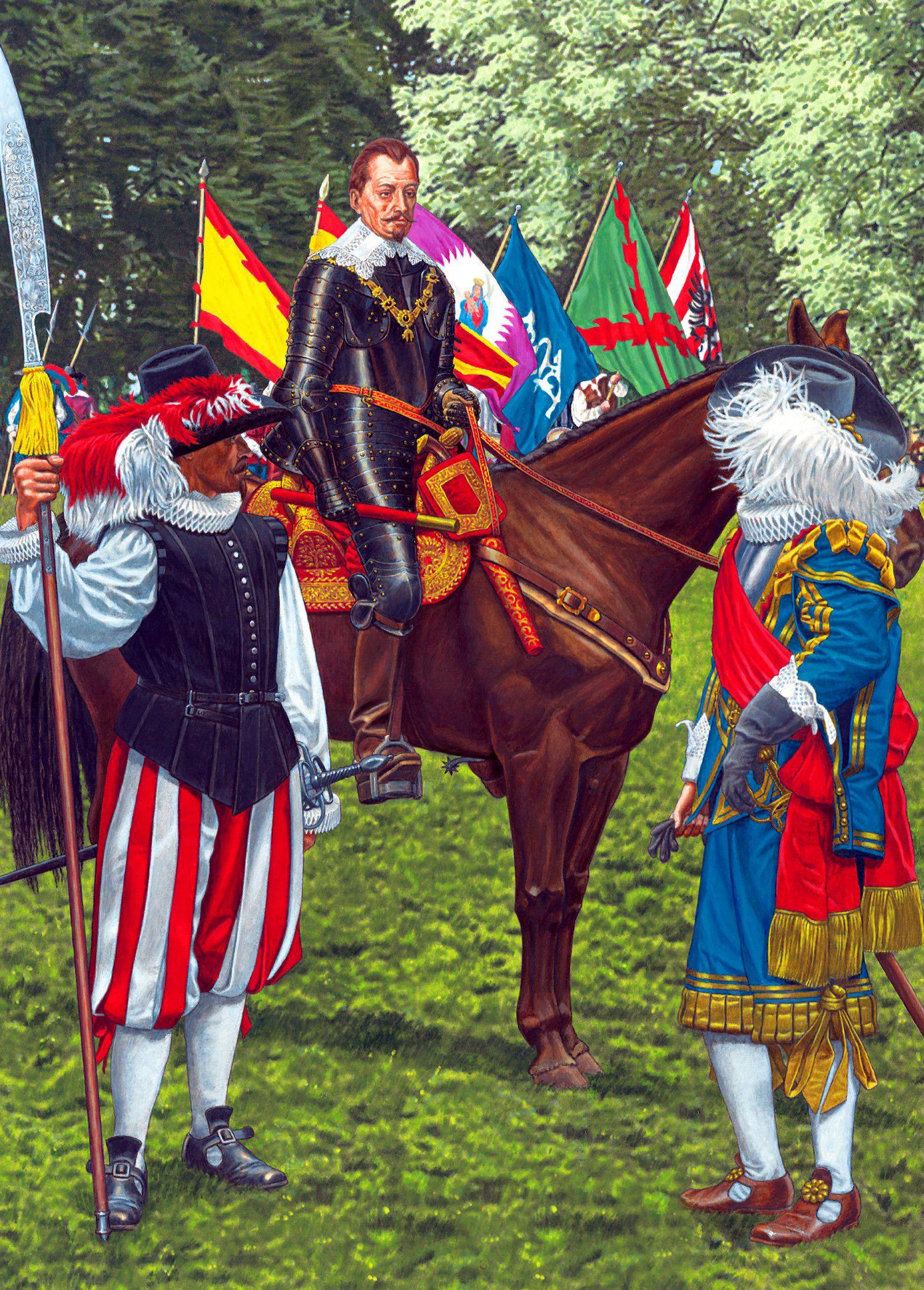 Albrecht Von Wallenstein And The Imperial Army During The