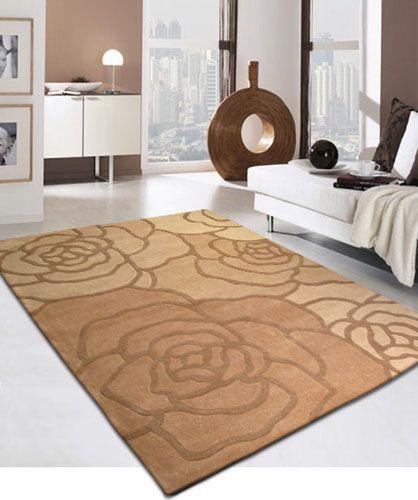 Tappeto design motivo floreale (con immagini) Tappeti