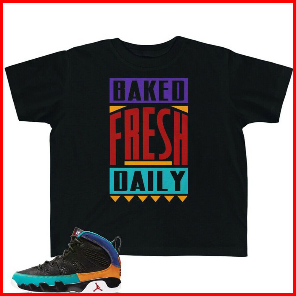 b7fae1487 Jordan 9 T-Shirt Dream It Do It Sneaker Match Baked Fresh Daily TShirt  Black Tee #fashion #clothing #shoes #accessories #mensclothing #shirts  (ebay link)